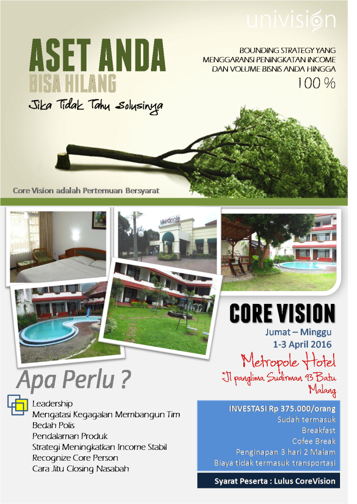 poster core vision