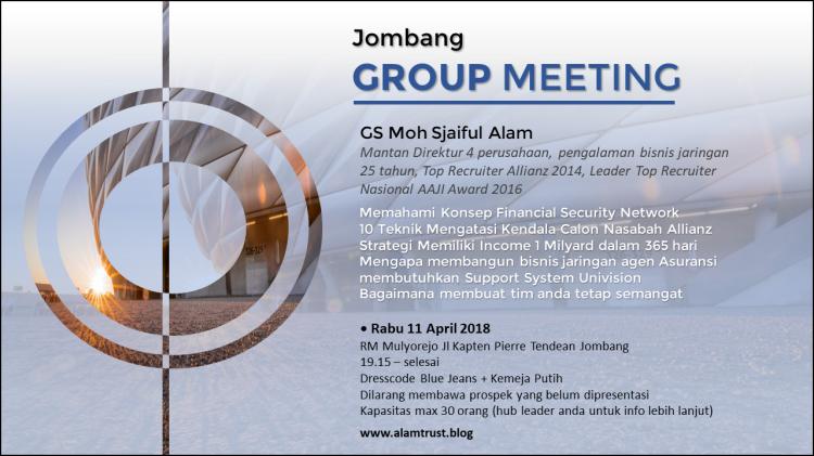 group meeting jombang