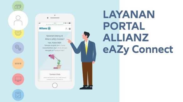 Mengetahui Transaksi Pembayaran Nasabah Allianz Dgn Eazy Connect Alamtrust Trust Your Self