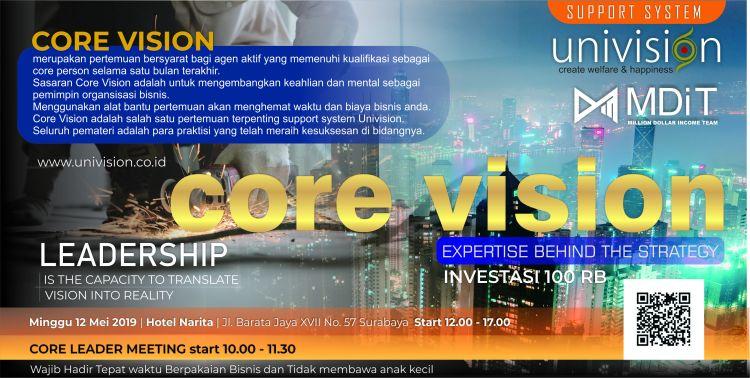 desain alt tiket core vision mei 2019