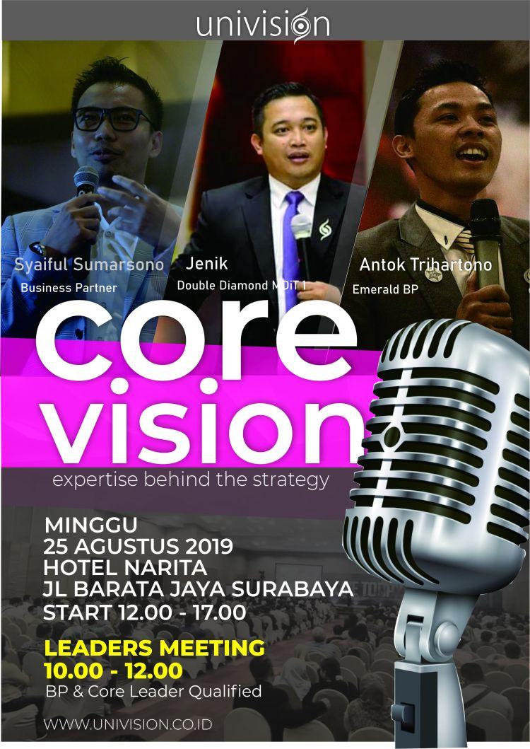 Poster Pertemuan Core Vision
